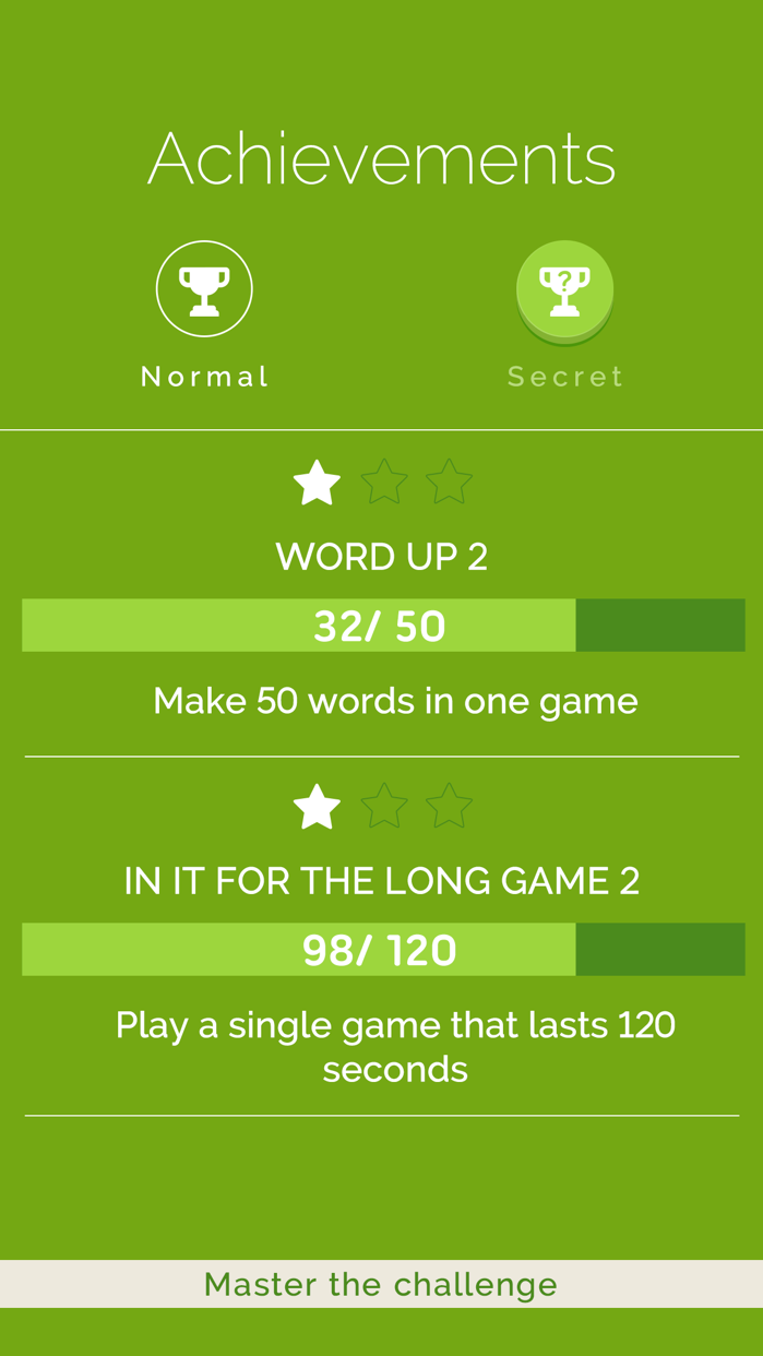 Four Letters Screenshot