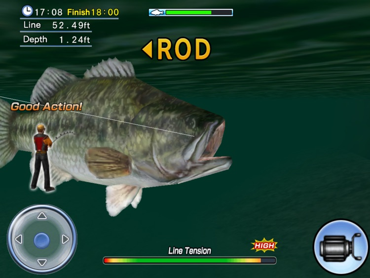 Bass Fishing 3D HD Premium screenshot-4