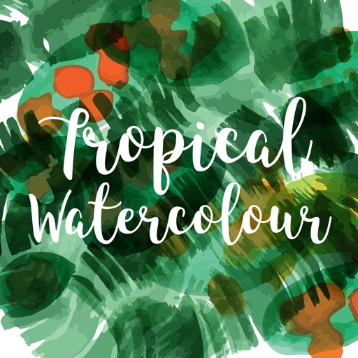 Tropical Watercolour