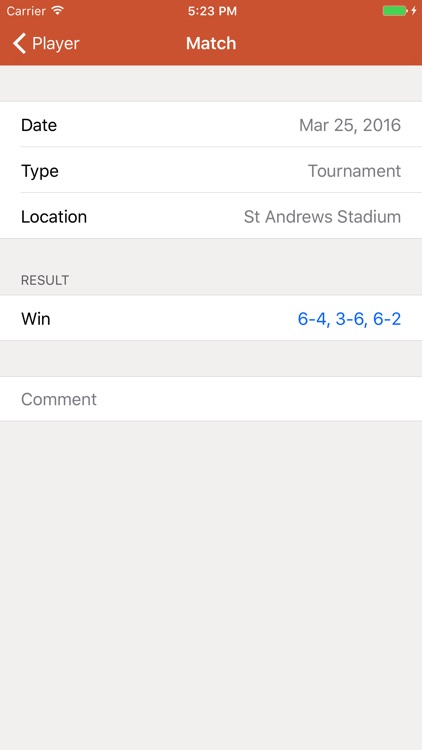Tennis Log screenshot-3