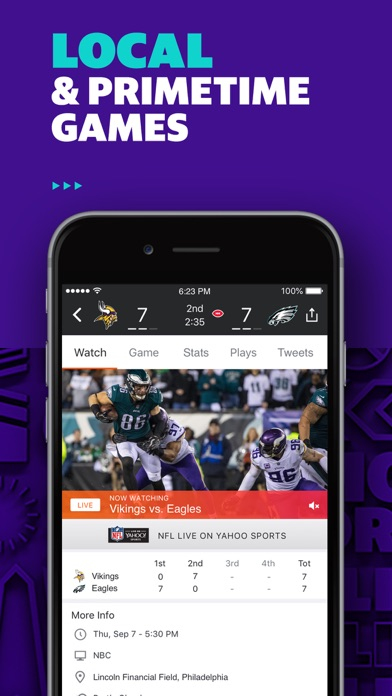 Yahoo Sports review screenshots