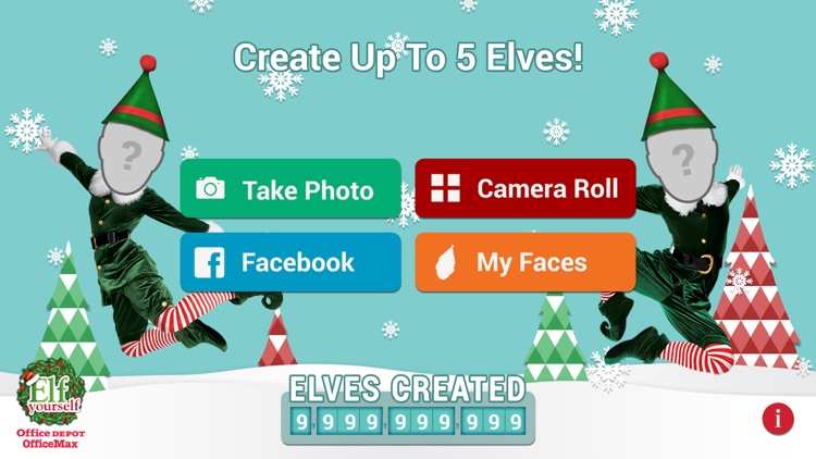 ElfYourself® By Office Depot screenshot-0