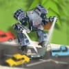 Snow Robot War: Freezing Power