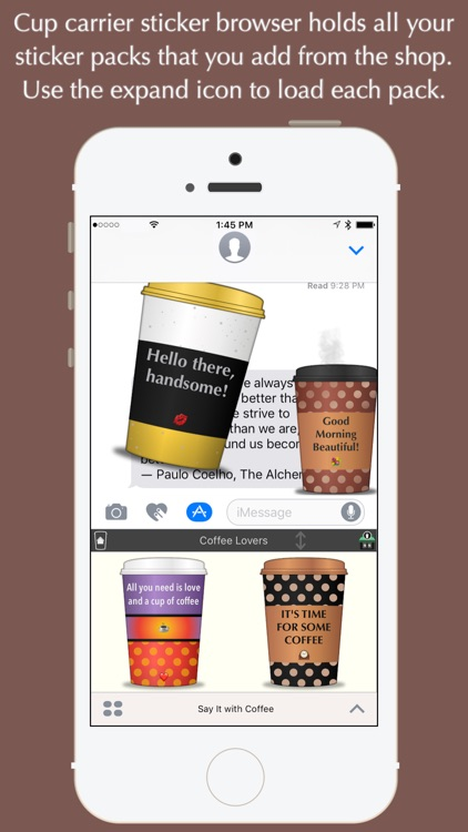 Say It with Coffee screenshot-4