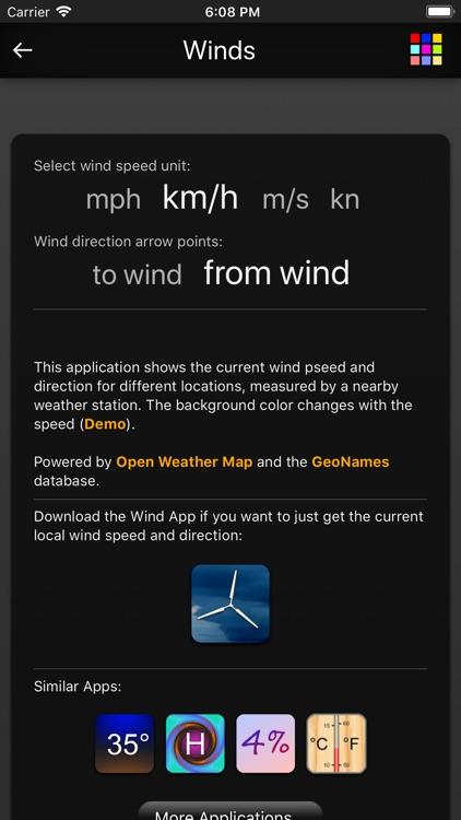 Winds App screenshot-4