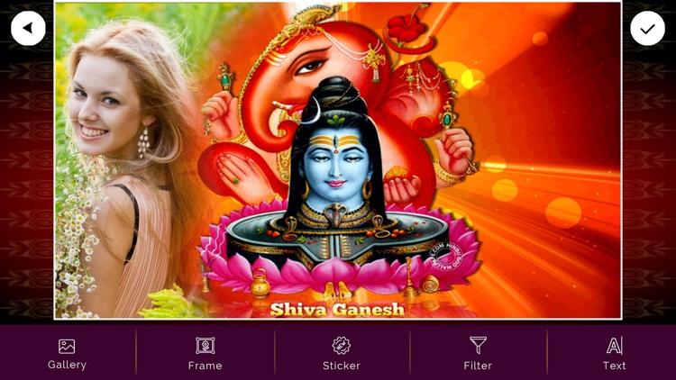 Ganesh Photo Frame Effects