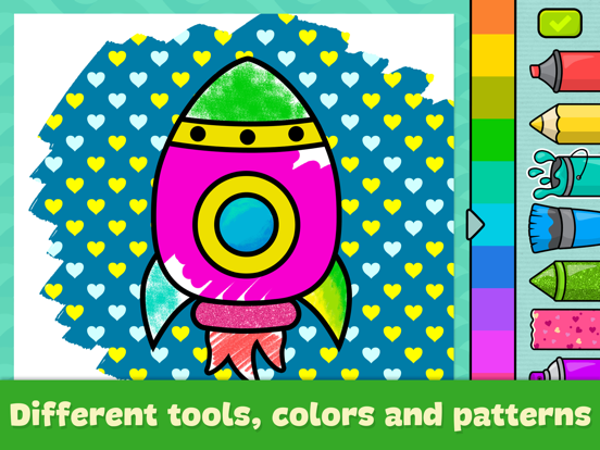 Baby coloring book for kids 2+