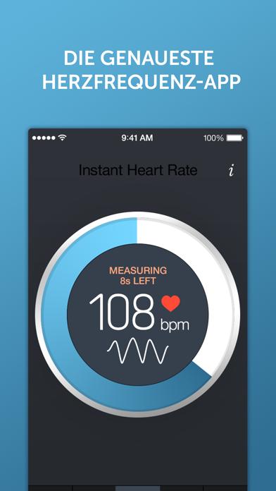 Screenshot for Instant Herzfrequenz+ in Switzerland App Store
