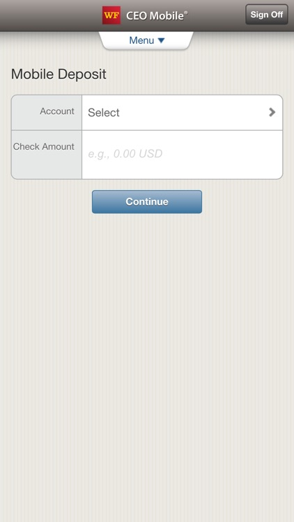 Wells Fargo CEO Mobile screenshot-3