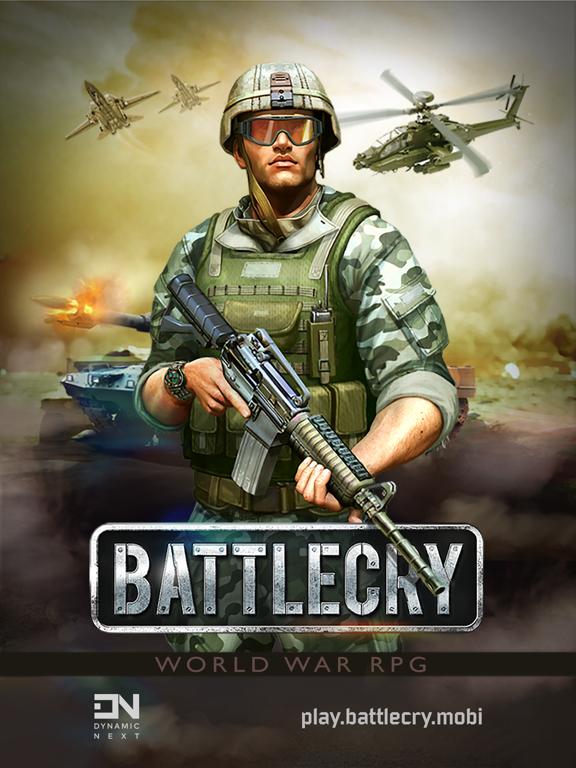 Battle Cry - World War (RPG) screenshot