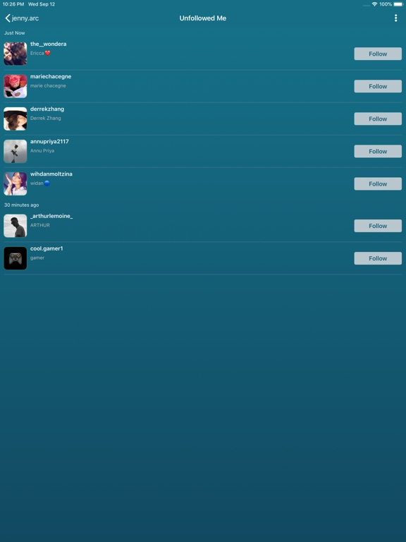 Followers Pro + for Instagram-ipad-1