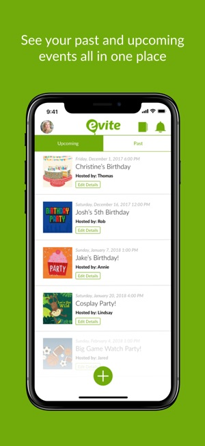 Evite online invitations on the app store iphone ipad stopboris Images