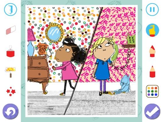 Charlie and Lola Colouring screenshot 10