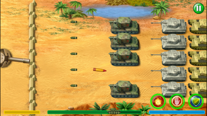 World War 2 Tank Defense screenshot one