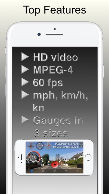 Car Camera - Video Speedometer screenshot-1