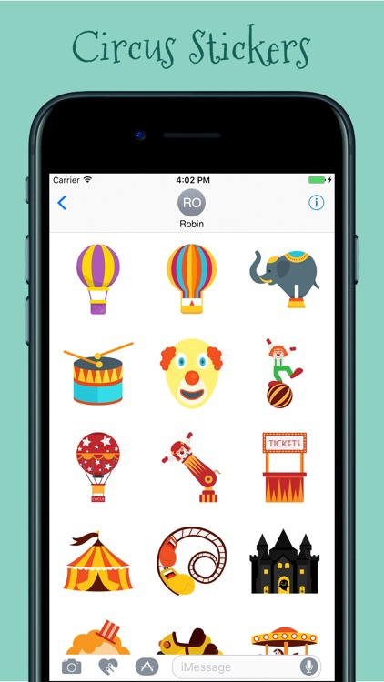 Circus Stickers Pack