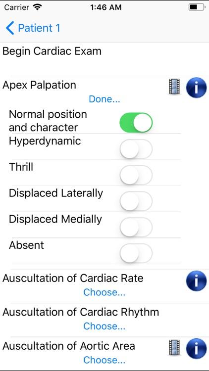Smart Medical Apps H&P screenshot-3
