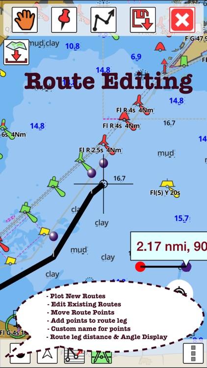 Germany: Marine Navigation Charts & Lake Maps screenshot-4