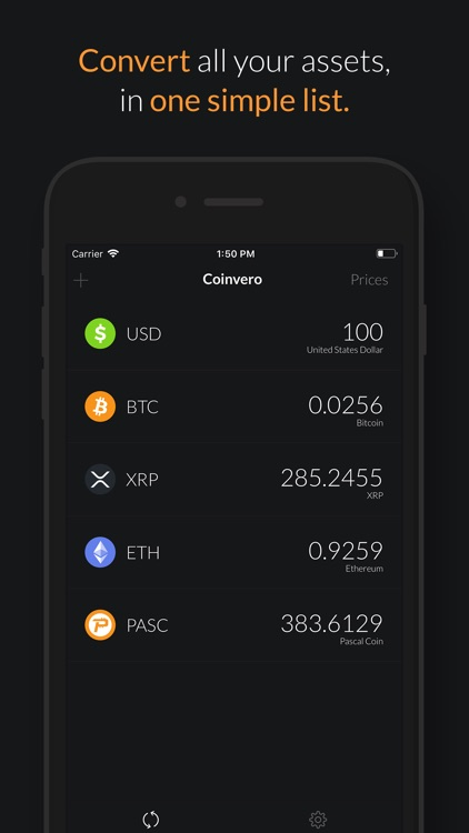 Coinvero - Currency Converter