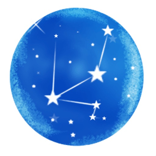Star and Constellation Sticker icon
