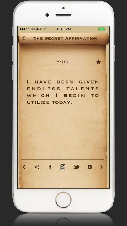 The Secret Affirmations Money screenshot-3