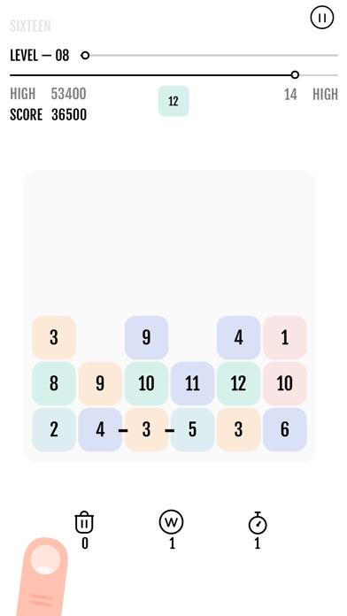 Sixteen - The Puzzle screenshot 1