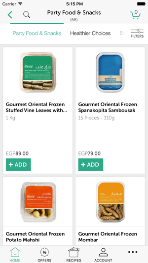 Gourmet Egypt dans l'App Store