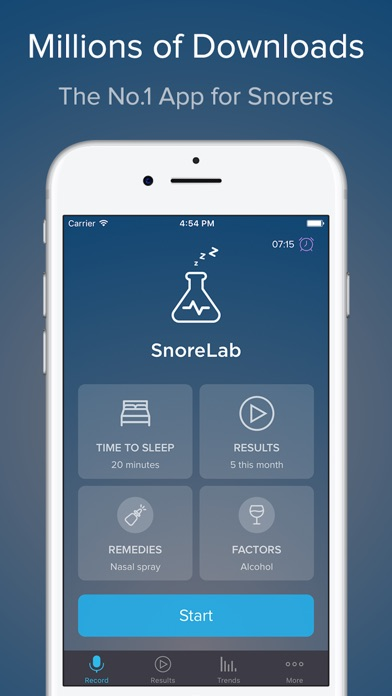 SnoreLab : Record Your Snoring Screenshots