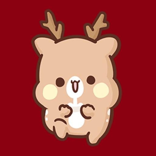 Puffy reindeer