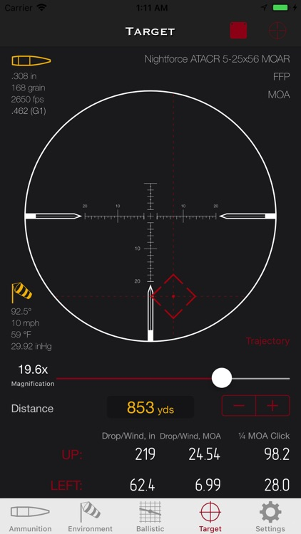 SBC - Ballistic calculator screenshot-0