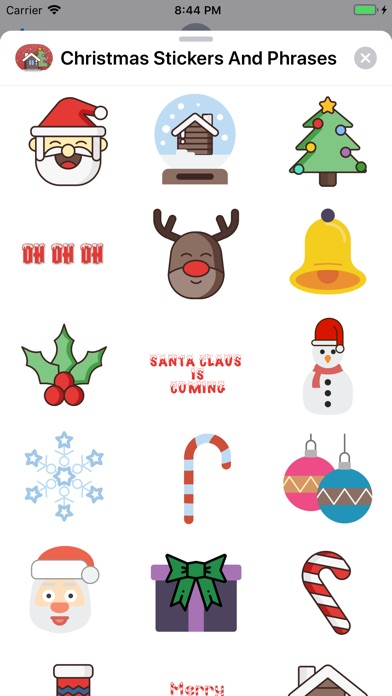 Christmas Stickers And Phrases screenshot 1