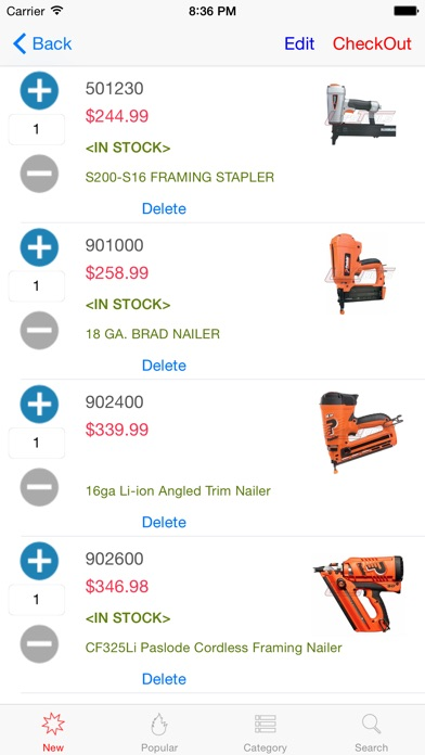 Lee's Tools-Gas/Cordless Tools screenshot four