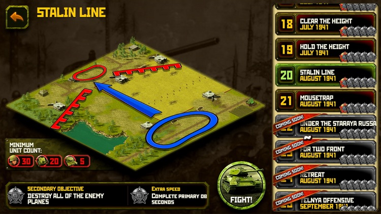 WW2: real time strategy game by appscraft