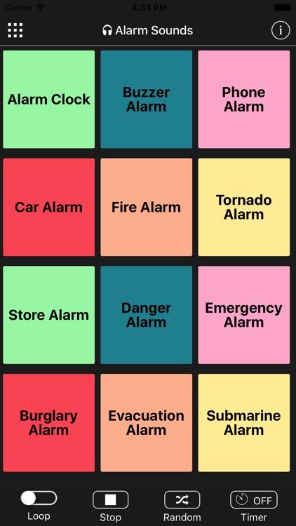 Alarm Sounds