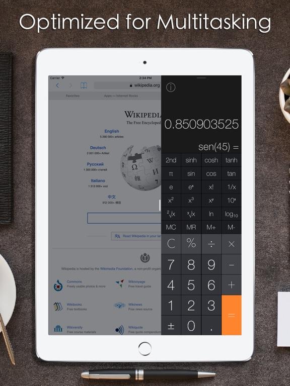 Screenshot #3 for Calculator Pro iRocks