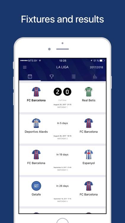 Barcelona Live — Goals & News. screenshot-4