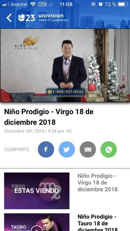 Univision 23 Miami screenshot-4