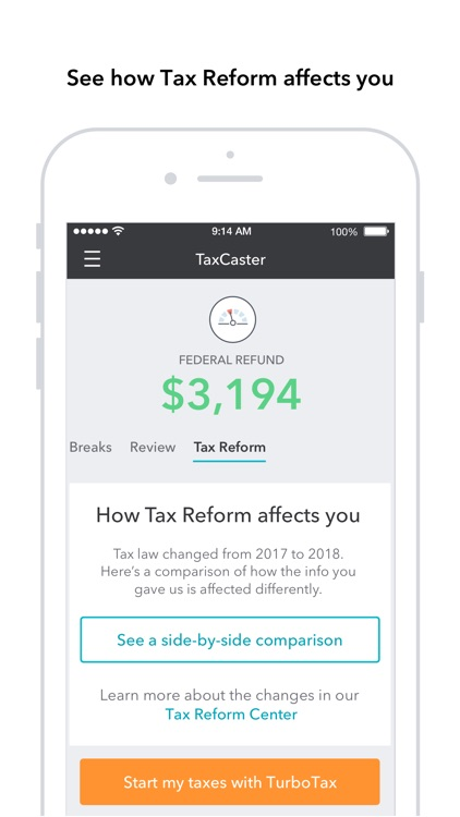 TaxCaster: Tax Calculator screenshot-3