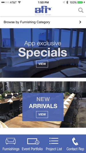 Afr Furniture Rental Im App Store