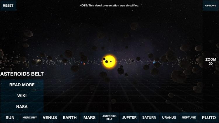 Solar System Overview 3D screenshot-4