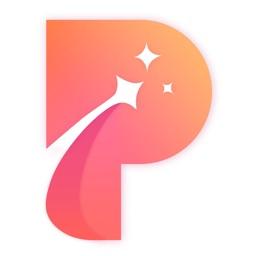 Pinks相机-视频和图片加上闪闪发光特效