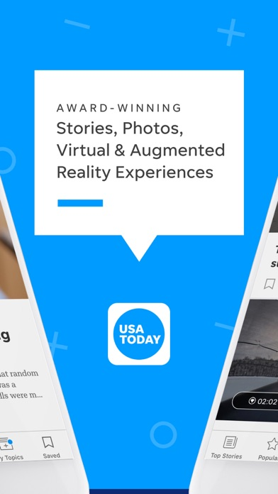 Screenshot for USA TODAY in United Arab Emirates App Store