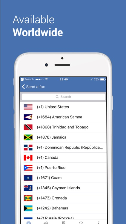 Fax app - Send Fax for iPhone screenshot-4