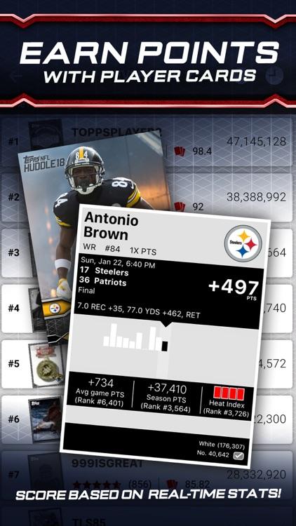 NFL HUDDLE: Card Trader screenshot-3