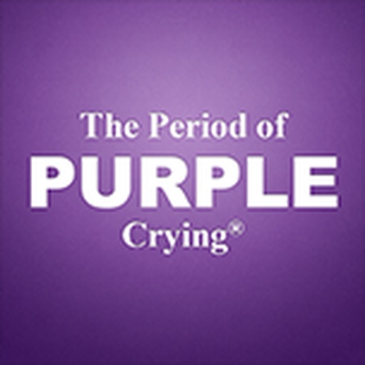The Period of PURPLE Crying iOS App
