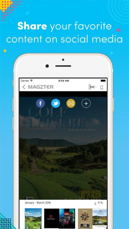 Golf + Leisure Magazine screenshot-3