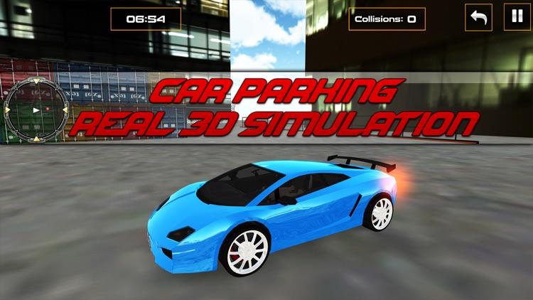 Car Parking Real 3D Simulation screenshot-3