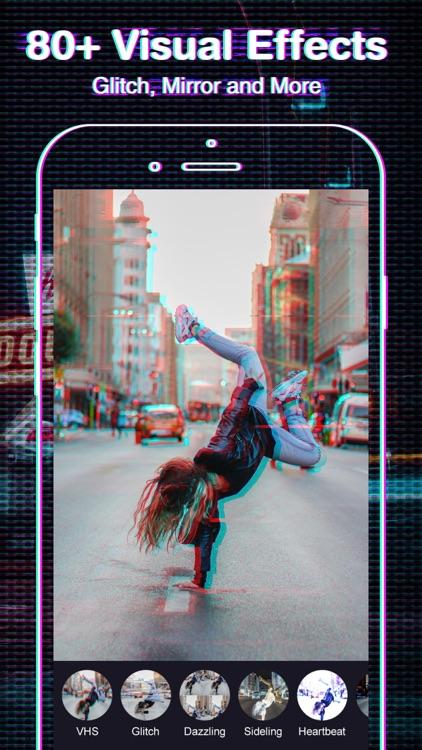 FX Editor- glitch video effect