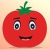 情感的番茄GIF,贴纸