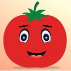 Emotionale Tomate GIFs, Aufkle icon